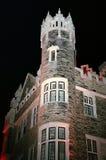 Casa Loma på natten Royaltyfri Fotografi