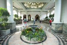 Casa Loma - pasillo del jardín interior Foto de archivo libre de regalías