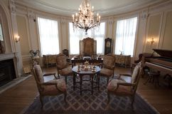 Casa Loma - sala de estar Foto de archivo libre de regalías