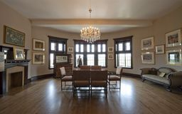 Casa Loma - sala de reunión Fotos de archivo