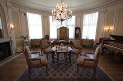 Casa LOMA - sala de visitas foto de stock royalty free