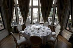 Casa LOMA - sala dinning foto de stock royalty free