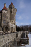 Casa Loma, slott i Toronto, Kanada Arkivbild