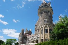 Casa Loma in Toronto Stock Photo