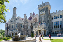 Casa Loma in Toronto Stock Photos