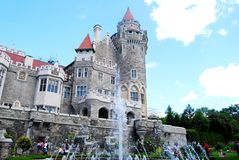 Casa Loma in Toronto, Canada Stock Photography