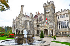Casa Loma in Toronto Royalty Free Stock Photo