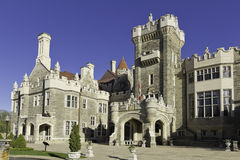 Casa Loma in Toronto. Front entrance royalty free stock photography