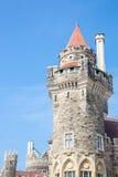 Casa Loma Tower Toronto Royaltyfri Bild