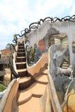 Casa louca no Lat da Dinamarca, Vietname Imagens de Stock