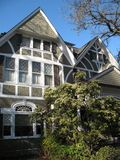 Casa lussuosa del Victorian immagine stock