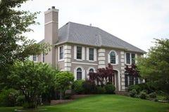 Casa luxuosa do tijolo Foto de Stock