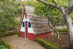 Casa Madeira de Santana Foto de Stock Royalty Free