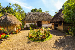 Casa maia Fotos de Stock Royalty Free