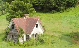 A casa a mais velha no condado fotografia de stock royalty free