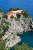 Casa malaparta-I-Capri eiland-Italië Royalty-vrije Stock Foto