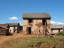 Casa malgache nativa imágenes de archivo libres de regalías