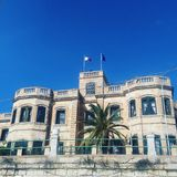 Casa maltesa imagen de archivo