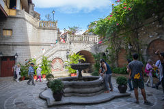 Casa Manila museum at intramuros Stock Image