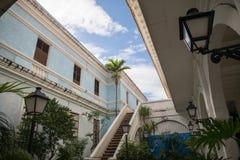 Casa Manila museum at intramuros Stock Photography