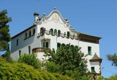 Casa Martí Trias i Domènech, Park Güell, Barcelona Royalty Free Stock Image