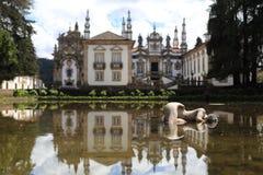 Casa Mateus. The palace Mateusz in Portugal, near Villa Real Royalty Free Stock Image