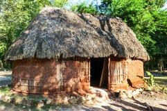 Casa maya tradizionale Fotografia Stock Libera da Diritti