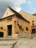 Casa medieval imágenes de archivo libres de regalías