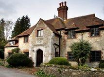 Casa medieval da vila Foto de Stock Royalty Free