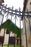 Casa medievale francese antica Fotografie Stock