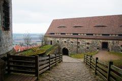 Casa medioevale Fotografia Stock Libera da Diritti
