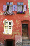Casa medioevale in Sighisoara, Romania Fotografia Stock