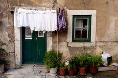 Casa mediterránea fotos de archivo libres de regalías