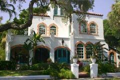 Casa mediterránea Foto de archivo libre de regalías