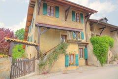 Casa mediterránea vieja Foto de archivo libre de regalías