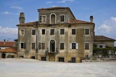 Casa mediterrânea velha Imagem de Stock Royalty Free