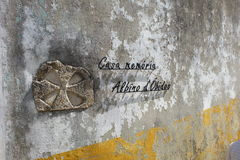 Casa memoria Albino d Obidos Stockbild