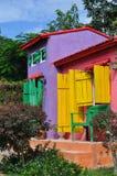 Casa messicana variopinta immagine stock libera da diritti