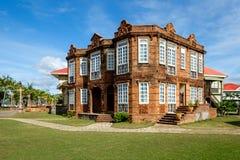 Casa Messico nelle case di Las - Filippine Fotografia Stock