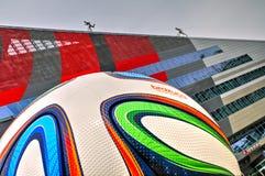 Casa Milán, jefaturas de AC Milan Imágenes de archivo libres de regalías