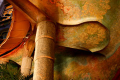Casa Milá or La Pedrera. Interior Stock Photo
