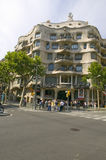 Casa Mil� Barcelona - La Pedrera, by Antoni Gaudi, built between 1905-1911, Barcelona, Spain Stock Photo