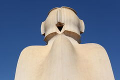 Casa mila Royalty Free Stock Photos