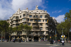 The Casa Mila Stock Image