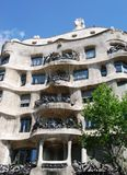 Casa Mila Royalty Free Stock Images