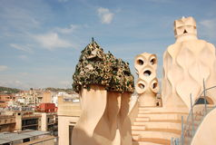 Casa mila - barcelona Royalty Free Stock Photos