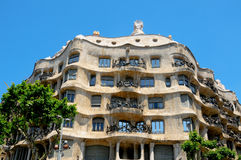Casa Mila, Barcelona Stock Photos
