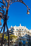 Casa Mila in Barcelona Stock Images