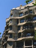 Casa Mila in Barcelona Royalty Free Stock Photo