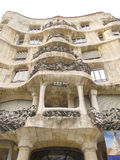 Casa Mila in Barcelona 07 Royalty Free Stock Images